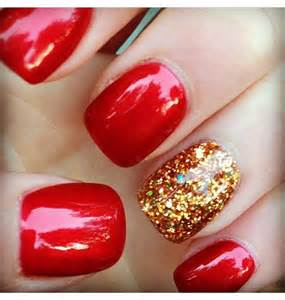 Attractive red nail designs uk fashion design