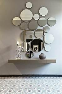 Spiegel Deko Ideen : 4 flur einrichten deko flur spiegel kerzen flur in grau gestalten einrichten und wohnen ~ Markanthonyermac.com Haus und Dekorationen