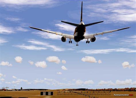 Approaching minimums - Microsoft Flight Simulator 2004