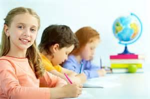 Happy School Students