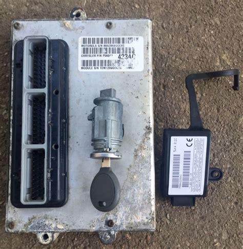 jeep grand cherokee  engine control skim module