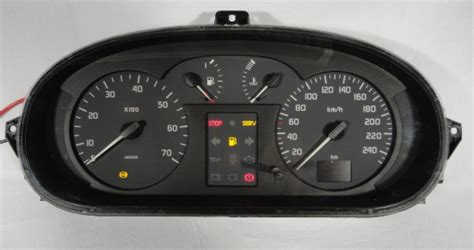 renault scenic 2001 interior painel de instrumentos scenic ritter auto peças tudo