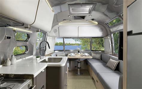 airstreams iconic trailer    luxurious upgrade travel leisure
