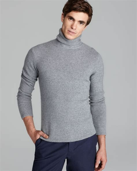 mens wool turtleneck sweater lyst steven alan terrence turtleneck sweater in