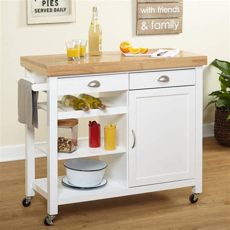 Dropleaf Kitchen Cart  Walmartcom