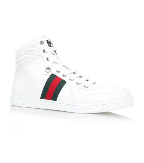 High Top by Lyst Gucci Coda High Top Sneaker In White For