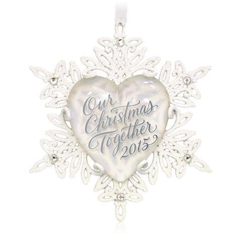 2015 our christmas together hallmark keepsake ornament
