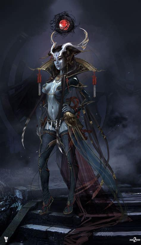 shadow warrior  ameonna  magdalena radziej