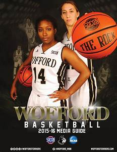 2015-16 Wofford Women's Basketball Media Guide by Wofford ...