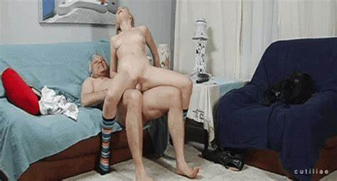 Dad Wanking And Cumming From His Small Plump Prick