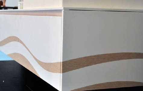 Corian Wood 3rings The Evolution Of The Bath Gaia Corian With Wood