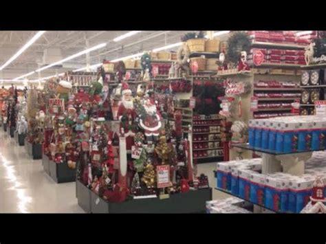 usa hobby lobby  amazing christmas aisles display set