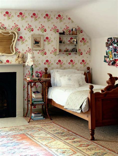 idee papier peint chambre idee de papier peint pour chambre 1 papier peint fleuri