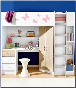 Schreibtisch Mit Schrank : hochbett mit treppe schrank und schreibtisch download page beste hause dekoration bilder ~ Buech-reservation.com Haus und Dekorationen