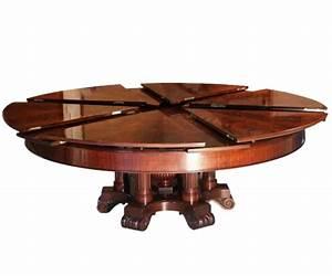 Tables Rondes Extensibles : table rabattable cuisine paris table ronde extensible ~ Teatrodelosmanantiales.com Idées de Décoration