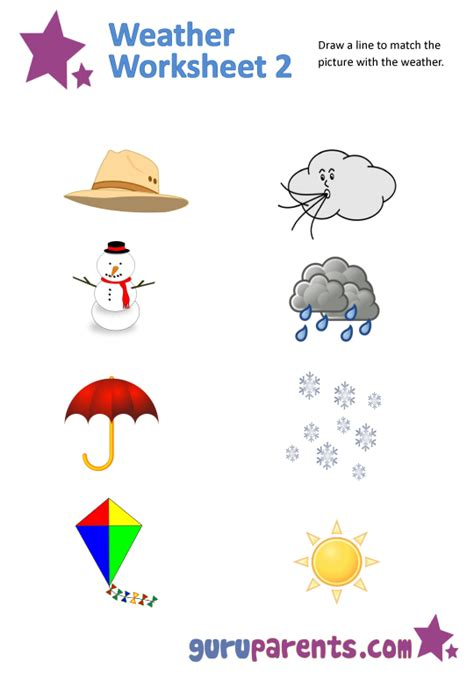 weather worksheets guruparents
