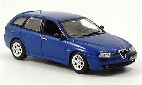 Alfa Romeo 156 Sportwagon Blue 2001 Minichamps Diecast