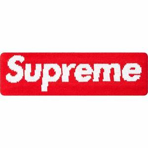 Supreme New Era Big Logo Headband Red – CURATEDSUPPLY