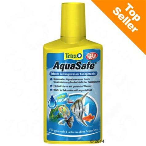 tetra aquasafe conditionneur d eau pour aquarium zooplus