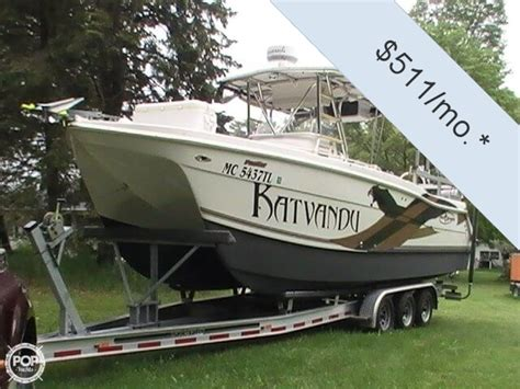 Fishing Boats For Sale In Ludington Mi by 2005 Prokat 27 Power Boat For Sale In Ludington Mi