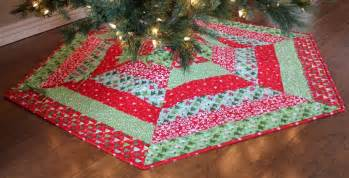 holly jolly christmas tree skirt pattern by a bright corner craftsy