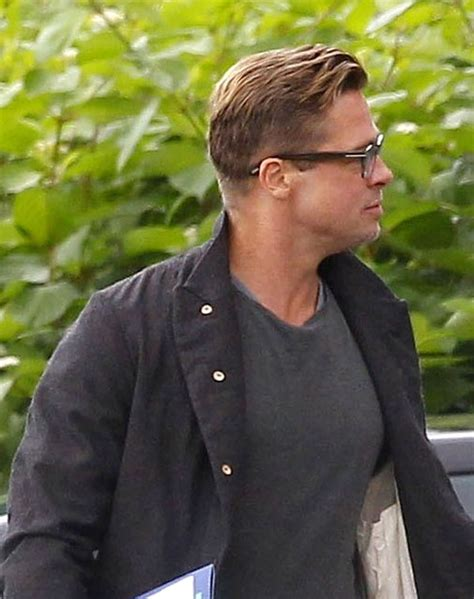 brad pitt fury   hairstyle strayhair