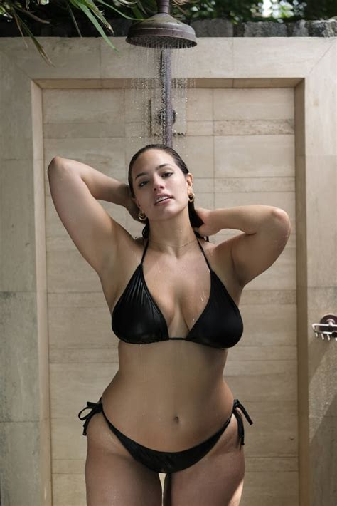 ashley graham swimsuits   collection popsugar