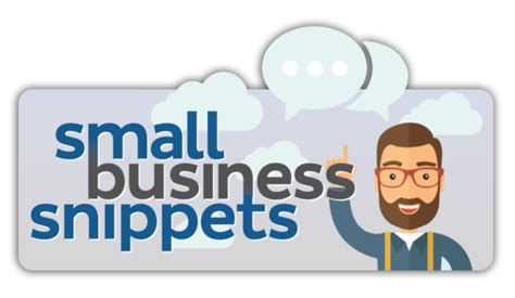 Listen To Our New Podcast Small Business Snippets