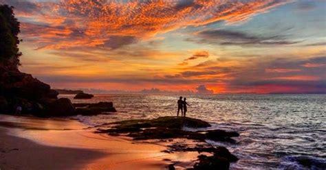 tempat melihat sunset terbaik  bali  asik unik