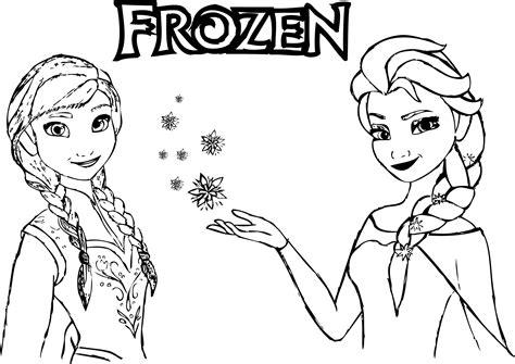 Frozen Ausmalbilder