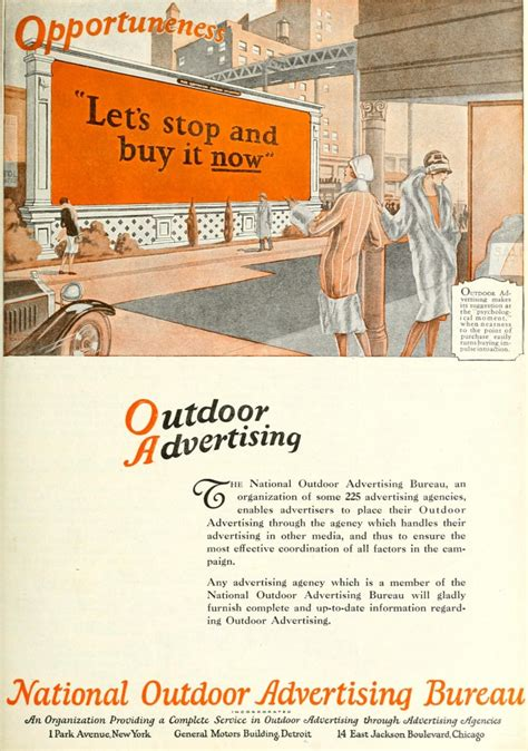 outdoor advertising bureau advertisements page 15