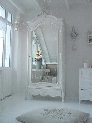 shabby chic white wardrobe white mirrored armoire j k pinterest armoires