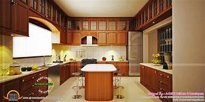 Modern kerala houses interior wwwpixsharkcom images for Interior design for kitchen in kerala