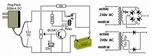 Image Result For Automatic 12v Battery Charger Circuit