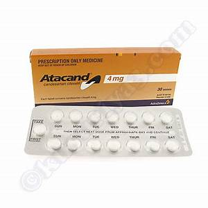 Atacand Candesartan Cilexetil Tablets Clinic Candesartan