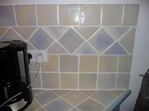 Carrelage Plan De Travail : fissure joint carrelage plan de travail cuisine ~ Premium-room.com Idées de Décoration