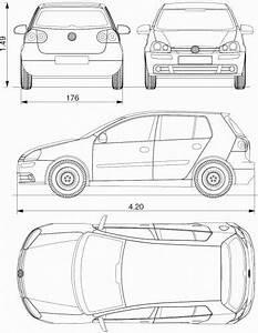 Dimensions Golf 5 : the blueprints cars volkswagen volkswagen golf v 2004 ~ Medecine-chirurgie-esthetiques.com Avis de Voitures