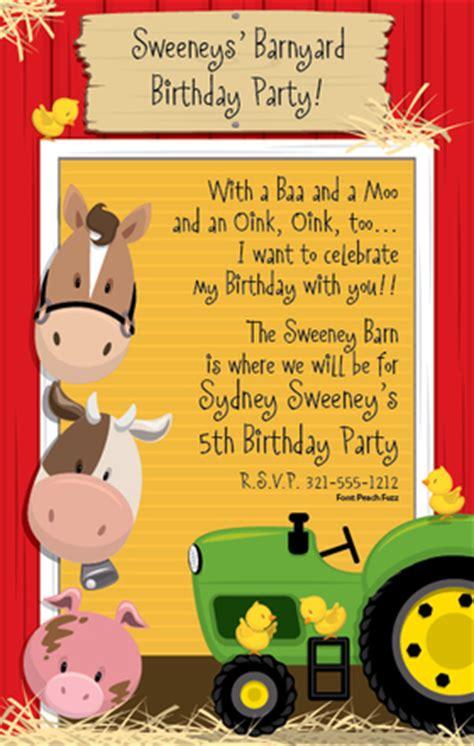 invitations birthday children juvenile girls  boys