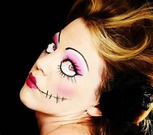 Halloween Make Up Puppe : halloween make up ideen das gesicht f r halloween v llig ver ndern ~ Frokenaadalensverden.com Haus und Dekorationen