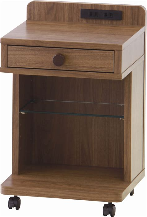 shop table on wheels d place rakuten side table with wheels and drawer 51 mla