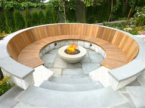 outdoor built in pits 15 outdoor conversation pits built for entertaining contemporist