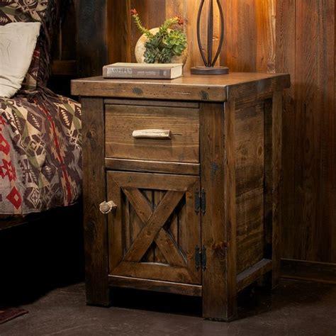 ideas  rustic nightstand  pinterest pallet bedroom furniture rustic master