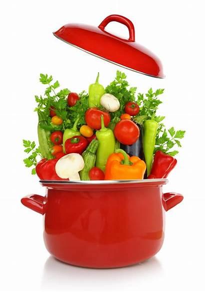 Pot Vegetables Cooking Nutrients Produce Gemuese Topf