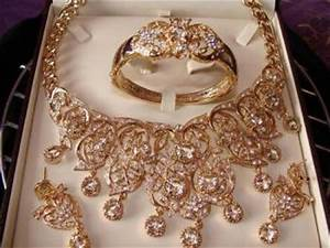 parure bijoux plaquer or ou fantaisie destockage grossiste With parure bijoux or