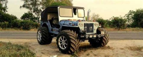 continued  beautifully modified jeeps   india
