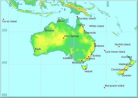 climatological information  australia  pacific
