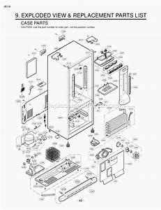 Lg Lfc23760st Parts List And Diagram   Ereplacementparts Com