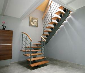 Escalier Colimaçon Pas Cher : types d 39 escaliers mod le d 39 escalier sur mesure ~ Premium-room.com Idées de Décoration
