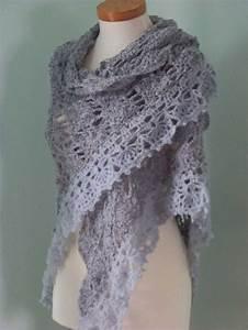 Lacy Shawl Crochet Pattern  U2013 Easy Crochet Patterns