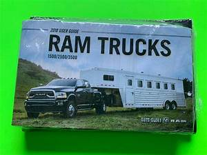 2018 Dodge Ram Trucks 1500  2500  3500 Owners Manual User
